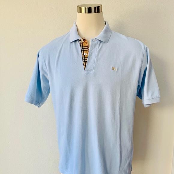 32fe1fce73c2 Burberry Shirts | Mens Check Placket Cotton Polo Shirt Xl | Poshmark